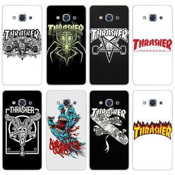 H321 Thrasher Transparent PC Hard Case Cover For Samsung Galaxy J 3 5 7 A 3 5 7 2015 2016 GRAND 2 PRIME