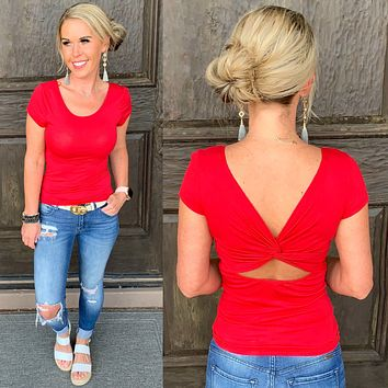 Get Twisted Top: Red