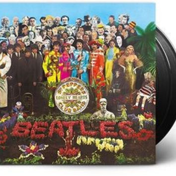 Sgt. Pepper's Lonely Hearts Club Band - The Beatles, LP Deluxe