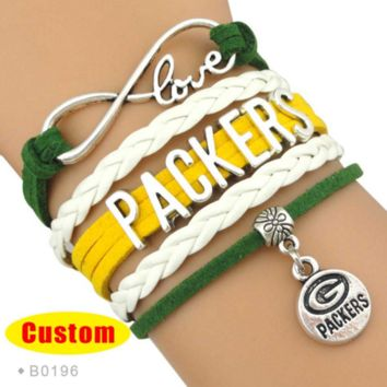 NFL Green Bay Packers Bracelet - Free Shipping