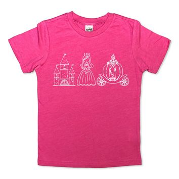 Princess Short Sleeve Tee Kavio