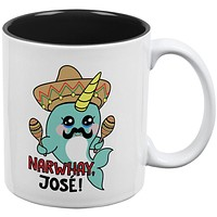 Narwhal Narwhay Jose All Over Coffee Mug