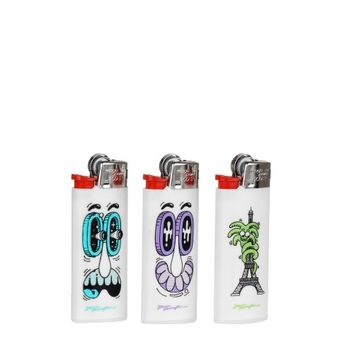 STEVEN HARRINGTON X BIC X COLETTE Set of 3 Mini Lighters