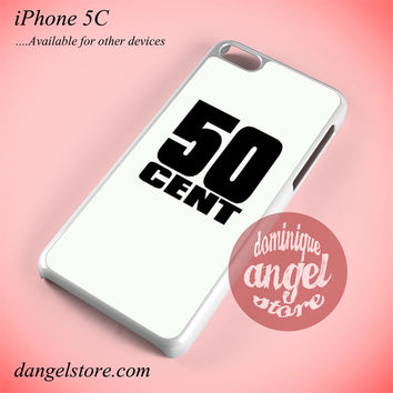 50 Cent Logo Phone case for iPhone 5C and another iPhone devices