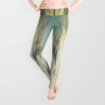 Dating Alice in wonderland Leggings by HappyMelvin | Society6