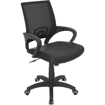 Officer Office Chair, Black