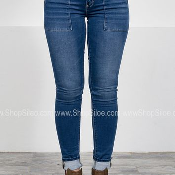 Dear John Comfort Skinny Medium Denim