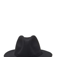 FOREVER 21 Classic Wool Fedora Black