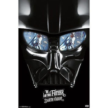 "Darth Vader STAR WARS Star Wars I Am Your Father Poster, 22"" by 34"""