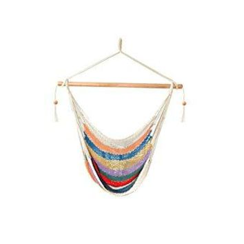 Laid Back - Easy hang Island Rope Hammock Chair - Multi