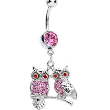 New Charming Dangle Crystal Navel Belly Ring Bling Barbell Button Ring Piercing Body Jewelry = 4804934276