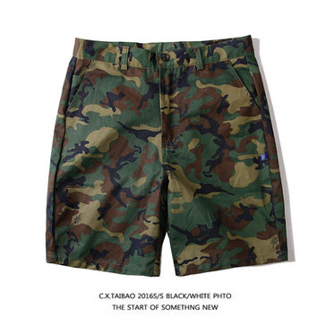 Casual Summer Camouflage Training Pants [10351478919]