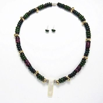 Nakia Necklace Set - From The Movie The Black Panther - Jewelry
