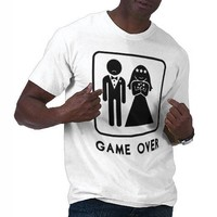 Game Over T Shirts from Zazzle.com