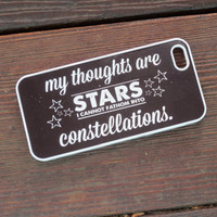 """My Thoughts Are Stars..."" Case from Good Vibe Cases"