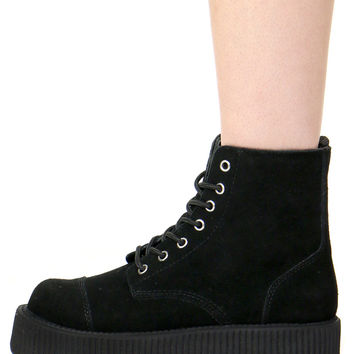 ELISA SUEDE COMBAT BOOTS from Shop Jeen