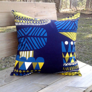 Marimekko Pillow cover, pillow case, pillow sham, throw pillow cover, cushion cover, envelope pillow, Scandinavian pillow, modern pillow