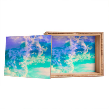 Caleb Troy Mountain Meadow Painted Clouds Jewelry Box