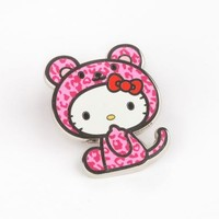 Hello Kitty Collector's Pin: Leopard