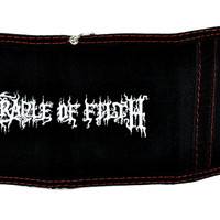 Cradle of Filth Tri-fold Wallet w/ Chain Extreme Metal Clothing