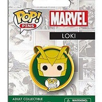 Funko Pop Pins: Marvel - Loki