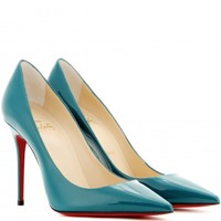 Decollete 554 100 patent-leather pumps