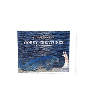 GOREY CREATURES BOOK OF POSTCARDS By Edward Gorey