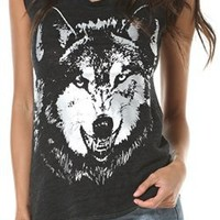 CHASER FOILED WOLF TEE | Swell.com