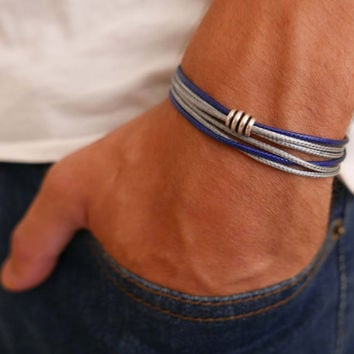 Men's Bracelet - Men's Beaded Bracelet - Men's Jewelry - Men's Gift - Boyfriend Gift - Husband Gift - Guys Bracelet - Guys Jewelry