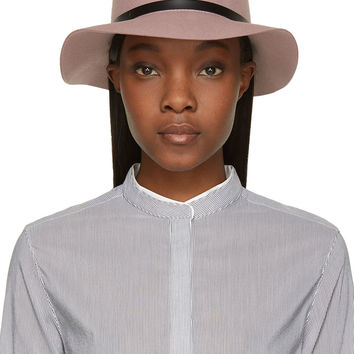 Rag And Bone Dusty Rose Wool Fedora