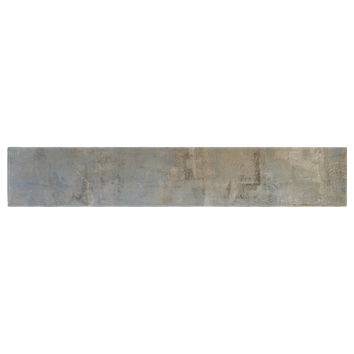 "CarolLynn Tice ""Overlooked"" Brown Gray Table Runner"