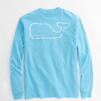 Vineyard Vines Long Sleeve Graphic Pocket Tee (New Colors 15)