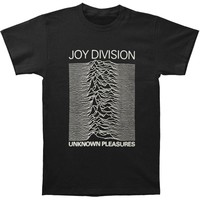 Joy Division Men's  Unknown Pleasures T-shirt Black