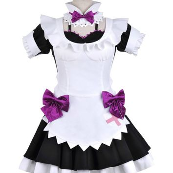 Love Live! School Idol Project Nishikino Maki Maid Cosplay