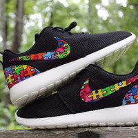 Autism Speaks Nike Custom Roshe
