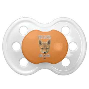 Eyes Clever Baby Design by Kat Worth Pacifier