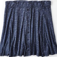 AEO 's Don't Ask Why Printed Circle Skirt
