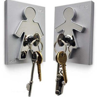 His and Hers Key Holder