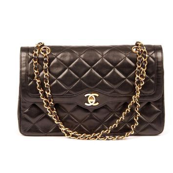 Chanel Paris Lambskin Double Chain 5394 (Authentic Pre-owned)