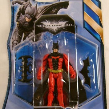 Batman The Dark Knight Rises Batarang Bash DC Comic Mattel Action Figure Collect