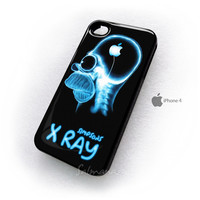 Homer The Simpsons X Ray iPhone 4/4s/4g/5 Case