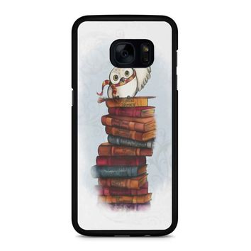 Hedwig Owl Harry Potter Samsung Galaxy S7 Edge Case