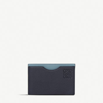 LOEWE Embossed leather card holder