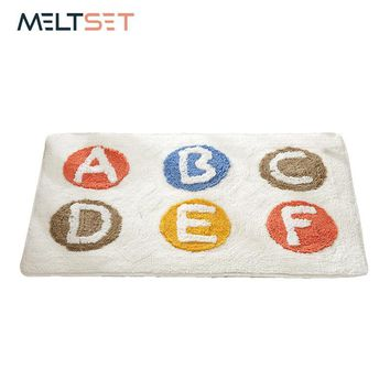 Autumn Fall welcome door mat doormat Washable Thickened Cotton Fabric  Super Soft Shaggy Carpet for Kids Living Room Fluffy Floor Rugs Bathroom Warm Rugs AT_76_7