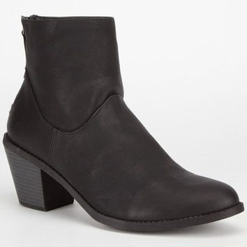 Madden Girl Gleee Womens Booties Black  In Sizes