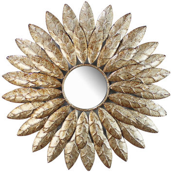 Home Source Industries Round Mirror