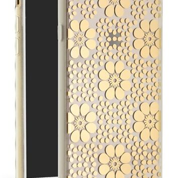 Sonix 'Crochet Floral' Clear iPhone 6 Plus Case - Metallic