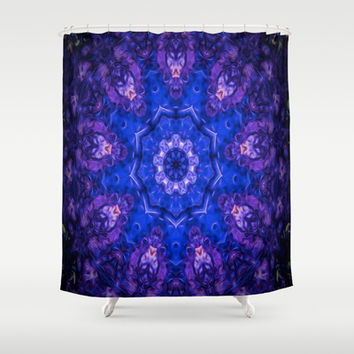 Sea Pat 3 Shower Curtain by Gwendalyn Abrams