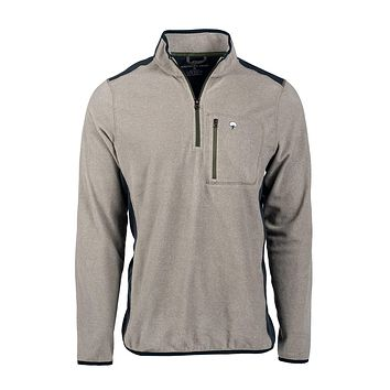 Trailhead Quarter Zip in Rhino by The Southern Shirt Co.