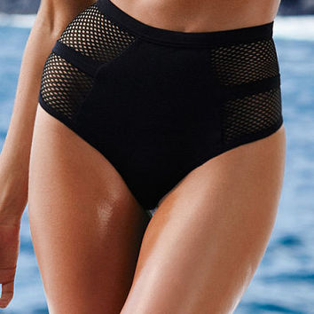 Banded Mesh High-waist Bottom - Very Sexy - Victoria's Secret